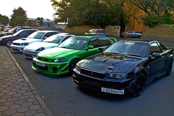 Встреча Оренбургских любителей японских автомобилей