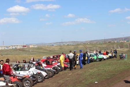 Очередной этап Чемпионата Оренбургской области по автокроссу в поселке Тюльган